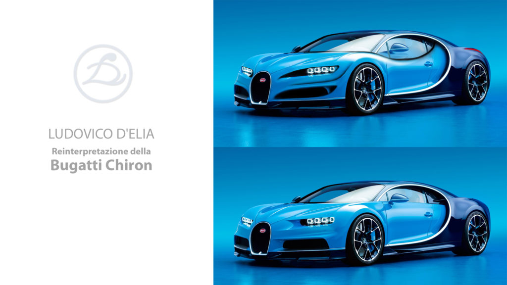 Video REDESIGN n.4 Bugatti Chiron